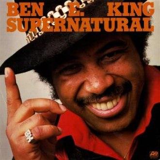 Supernatural (Ben E. King album) - Image: Bk supernatural