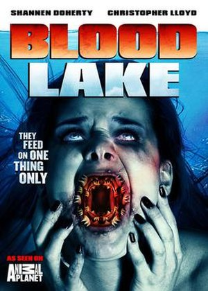 Blood Lake: Attack of the Killer Lampreys - DVD cover