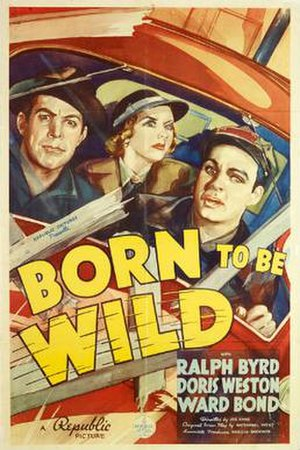 Born to Be Wild (1938 film) - Theatrical release poster