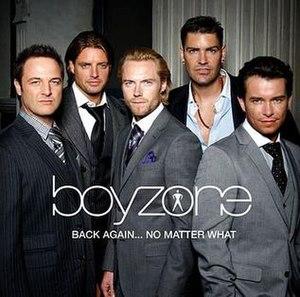 Back Again... No Matter What - Image: Boyzone back again no matter what