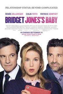 <i>Bridget Joness Baby</i> 2016 romantic comedy film directed by Sharon Maguire
