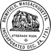Official seal of Brimfield, Massachusetts