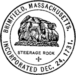Brimfield, Massachusetts - Image: Brimfield MA seal