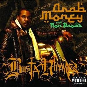 Arab Money - Image: Busta rhymes arab money