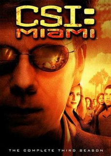 <i>CSI: Miami</i> (season 3) Season of American television series CSI: Miami