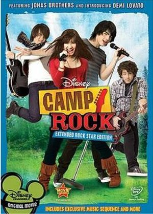 Camp Rock - Extended Rock Star Edition DVD cover