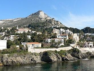 Cap-d'Ail - A general view of Cap-d'Ail