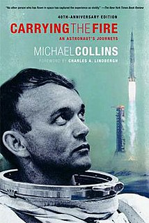 <i>Carrying the Fire</i> book by Michael Collins