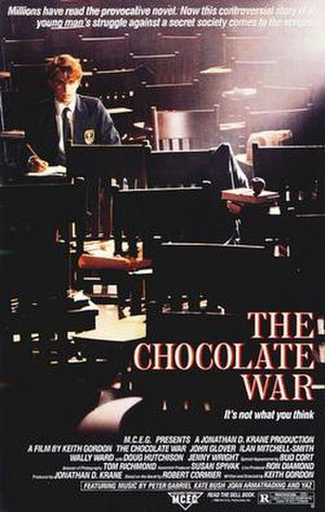 The Chocolate War (film) - Theatrical release poster