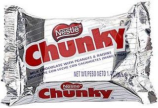 Nestlé Chunky Candy bar