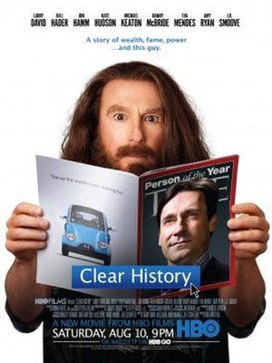 Clear History - Television release poster