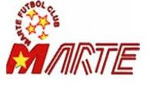 C.D. Marte -  2001 badge