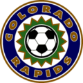Colorado Rapids second logo (2001–06)