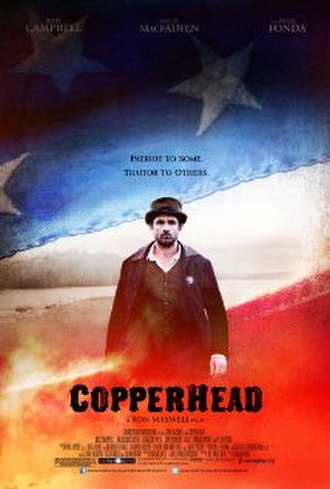 Copperhead (2013 film) - Theatrical release poster
