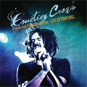 August and Everything After: Live at Town Hall - Image: Counting Crows AAEA Town Hall Cover