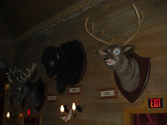 Country Bear Jamboree - Melvin, Buff, and Max (left to right) at the Walt Disney World Country Bear Jamboree