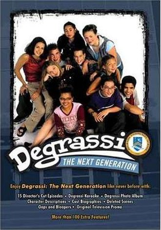 Degrassi: The Next Generation (season 1) - Degrassi: The Next Generation Season 1 DVD