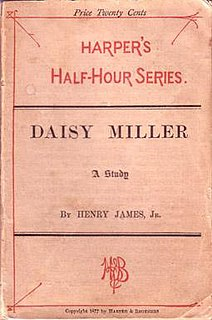 <i>Daisy Miller</i> novella by Henry James