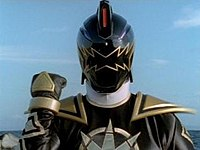 Tommy as the Black Dino Ranger