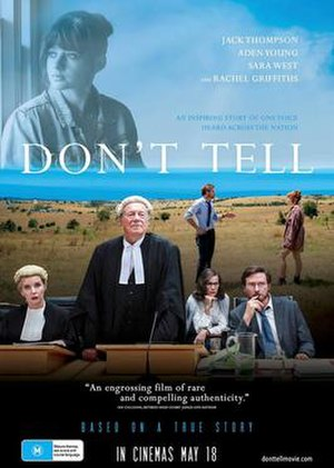 Don't Tell - Theatrical film poster