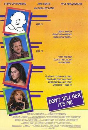 Don't Tell Her It's Me - Theatrical Poster