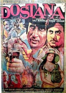 <i>Dostana</i> (1980 film) 1980 Hindi film directed by Raj Khosla