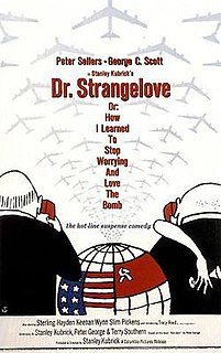 <i>Dr. Strangelove</i> 1964 British-American satire film directed by Stanley Kubrick