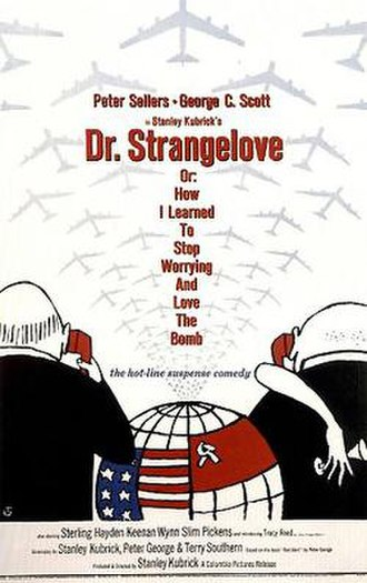 Dr. Strangelove - Theatrical release poster by Tomi Ungerer