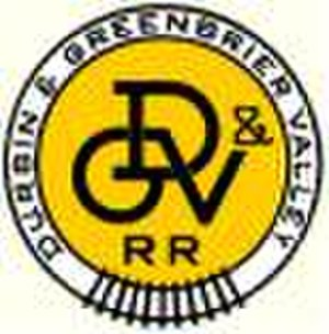 Durbin and Greenbrier Valley Railroad - Image: Durbin and Greenbrier Valley Railroad logo