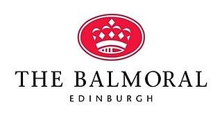 Balmoral Hotel Luxury hotel in Edinburgh, Scotland