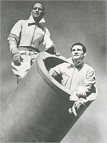 Edmondo Zacchini and Hugo Zacchini 1960-1970 circa.jpg