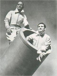 Hugo Zacchini Human canonball