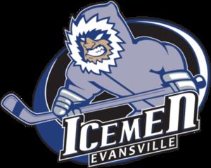 Evansville IceMen - Image: Evansville Ice Men CHL