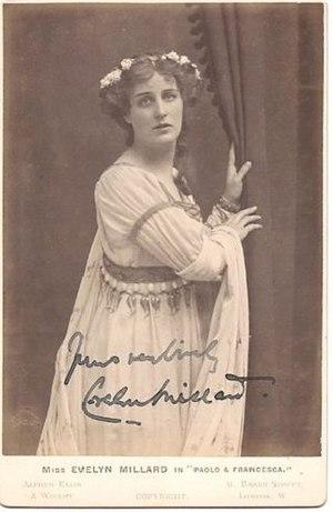Evelyn Millard - Image: Evelyn millard paolo