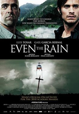 Even the Rain - Theatrical release poster