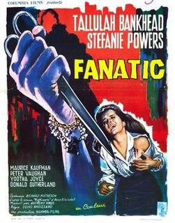 <i>Fanatic</i> (film) 1965 film by Silvio Narizzano