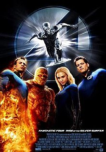 Image result for rise of the silver surfer movie