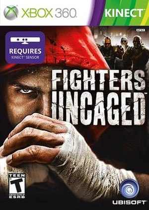 Fighters Uncaged - Image: Fighters Uncaged cover art