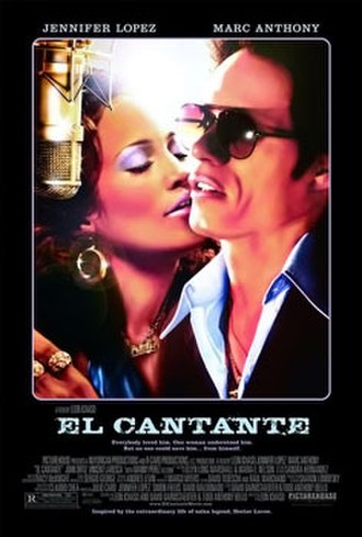 El Cantante - Theatrical release poster