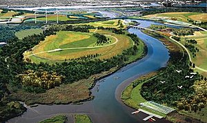 Fresh Kills Landfill - A depiction of the future Fresh Kills Park