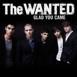 Glad You Came - Image: Glad you came us