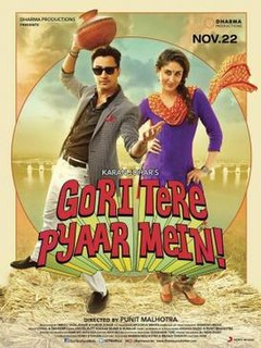 <i>Gori Tere Pyaar Mein</i> 2013 film by Punit Malhotra