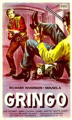 Duello nel Texas - Spanish film poster
