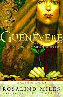 <i>Guenevere, Queen of the Summer Country</i> book by Rosalind Miles