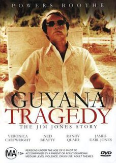 <i>Guyana Tragedy: The Story of Jim Jones</i> 1980 television film directed by William A. Graham
