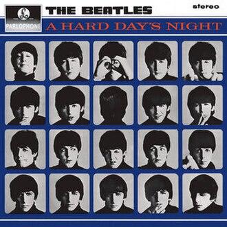 A Hard Day's Night (album) - Image: Hard Day UK