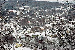 Hardwick, Vermont - View from Buffalo Mountain