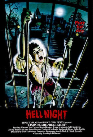 Hell Night - Original poster