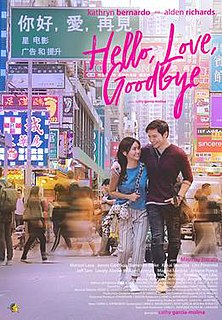 <i>Hello, Love, Goodbye</i> 2019 Filipino romantic drama film