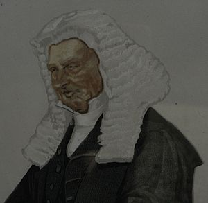 Henry Brand, 1st Viscount Hampden - Detail of Tissot's caricature of Mr. Speaker, in Vanity Fair, November 1872, No. 211, Statesman, No. 129.